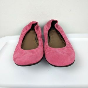 J. Crew Shoes - J. Crew Pink Slip On Suede Leather Slip On 7.5